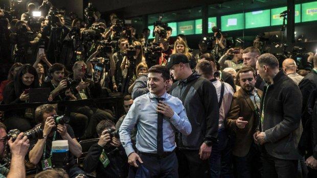 У яких образах кандидатів підтримували їхні другі половинки: баклажан Марини Порошенко і стриманість Олени Зеленської