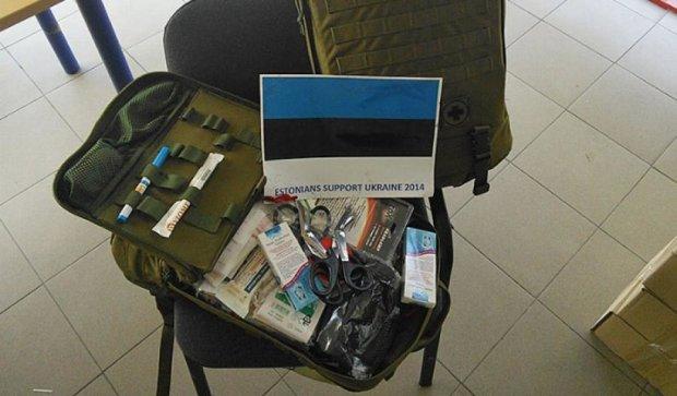 Эстонская волонтерская организация «Свободная Украина» спасает АТО-шников (фото)