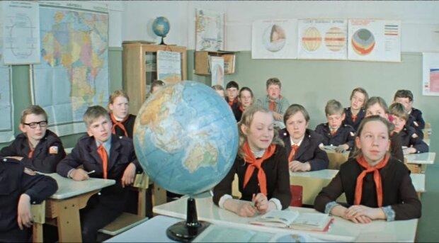 Радянські школярі, фото YouTube