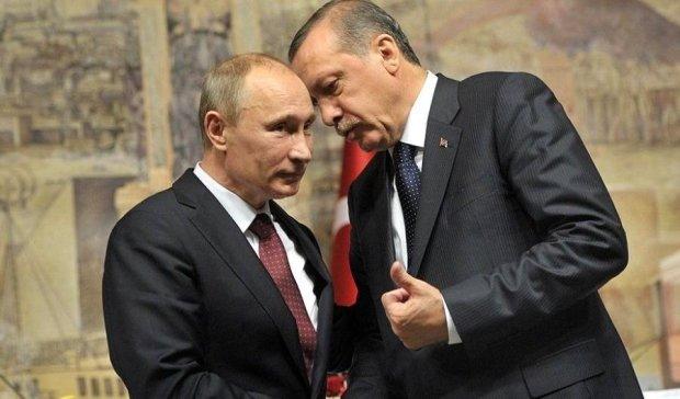 Стали відомі результати переговорів між Путіним та Ердоганом