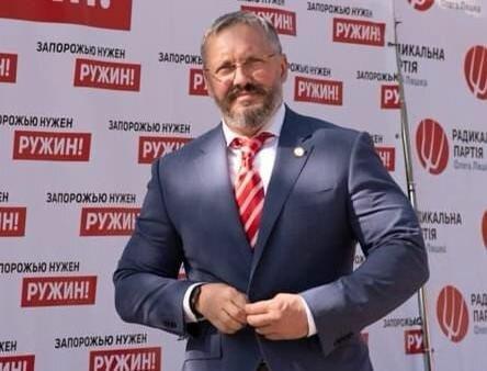 Кандидат в мэры Запорожья Ружин подцепил коронавирус перед выборами