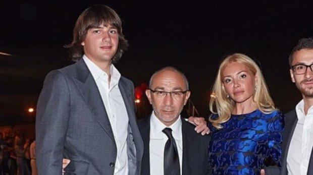 Оксана Гайсинська, Геннадій Кернес і син Родіон, фото: Instagram