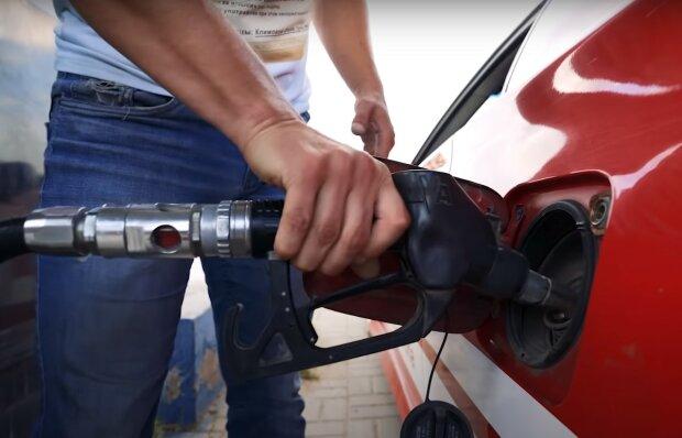 АЗС, скріншот з відео