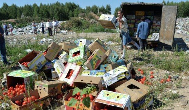 Росія вимагає від партнерів також знищувати санкційні продукти