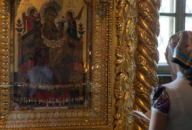 """День ікони Богородиці """"Всецариці"""", скріншот: YouTube"""