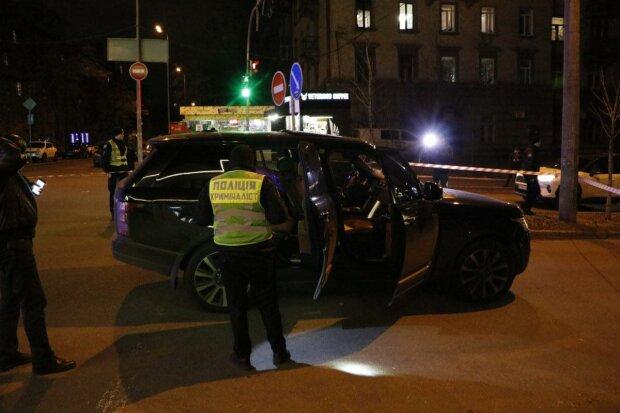 Замах на Соболєва у Києві, фото: Інформатор Київ