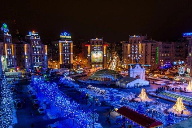 Новогодняя иллюминация в Киеве, Факты