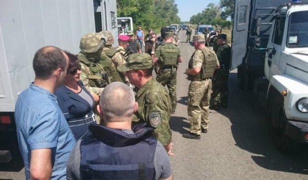 Из тюрем в «ДНР» Украине передали 20 осужденных