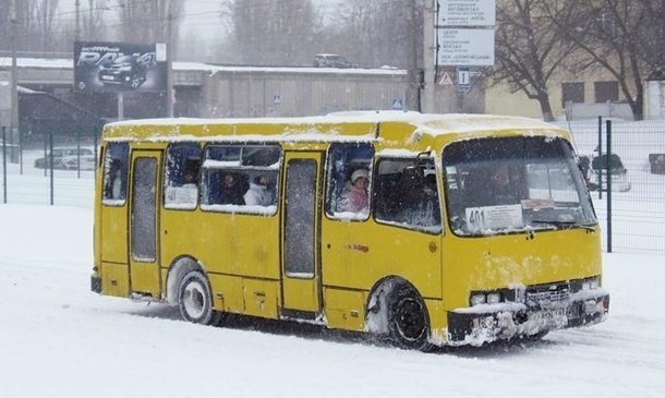 В Киеве водитель маршрутки оказался в центре скандала: имеете коляску - идите пешком