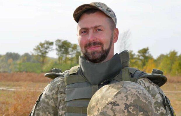 Військовий Михайло, фото: прес-служба ООС