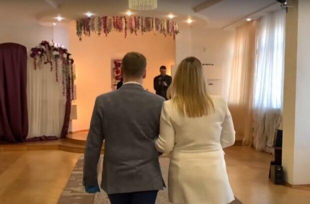 весілля на карантині, скріншот з відео
