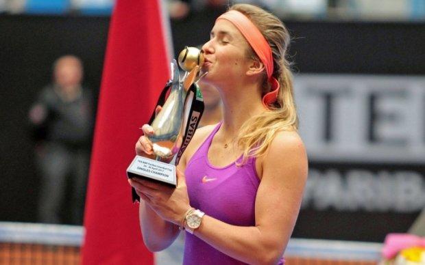 Украинская теннисистка Свитолина завоевала третий титул в сезоне