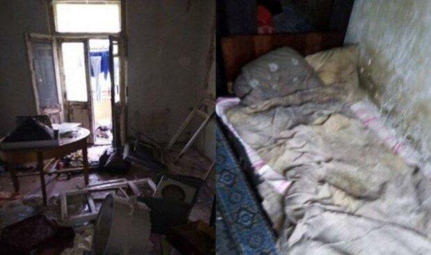 В Кривом Роге истощенных малышей вырвали из лап горе-матери - ходили голые, спали на полу среди мусора