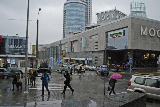 Дощить, Вихідний Дніпро