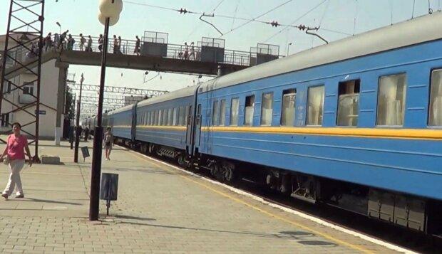 поїзд / скріншот з відео