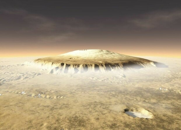 Еверест не найвища гора? На Марсі згаслий Олімп побив рекорд Землі