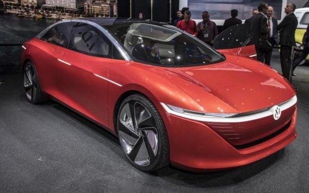 Без руля и педалей: Volkswagen представил новейший электрокар