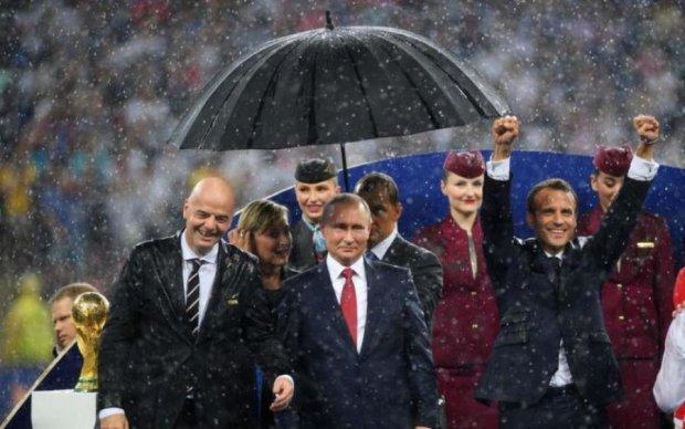Тільки для царя: Путін принизив європейських лідерів на Чемпіонаті світу