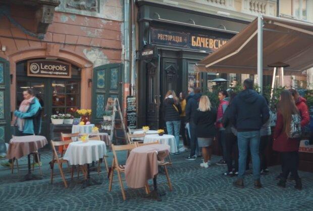 вулиці Львова, скріншот із відео