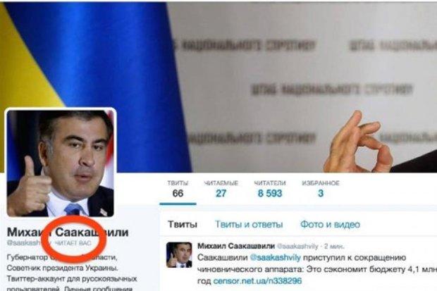 Создатель фейкового твиттера Саакашвили признался во лжи