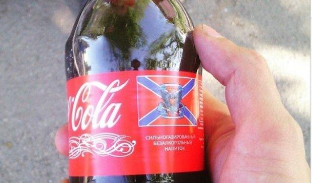 """Террористы продают """"Сoca-cola"""" со своей символикой"""