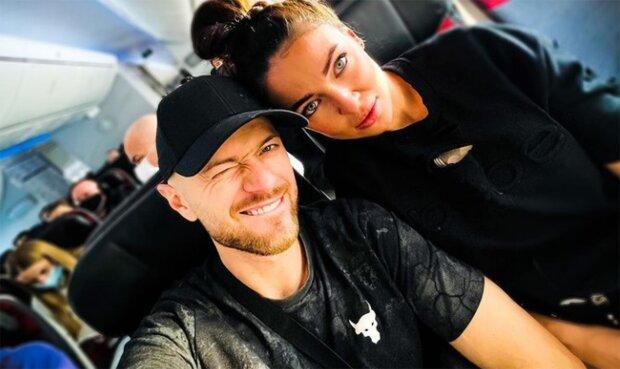 Влад Яма с женой, фото из Instagram