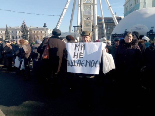 У Києві виступили противники проплачених мітингів, а їм не заплатили: за що боролися