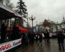 """Мітинг """"SaveФОП"""", фото: Znaj.ua"""