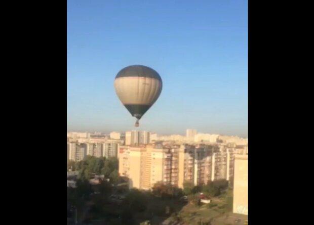 Небо над Троещиной заполонили воздушные шары - вот она, осенняя романтика