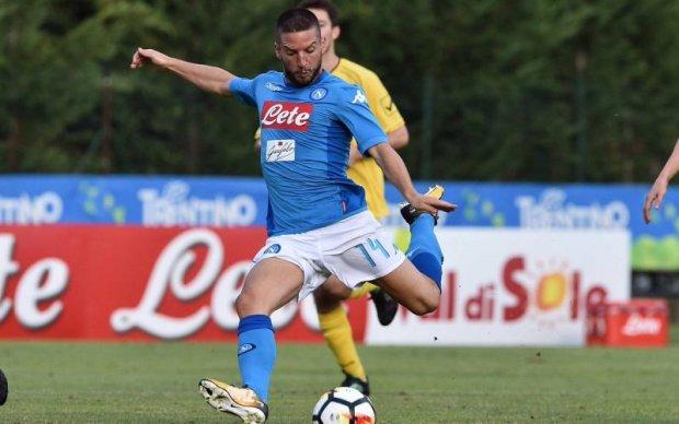 Наполі забив рекордну кількість голів в товариському матчі
