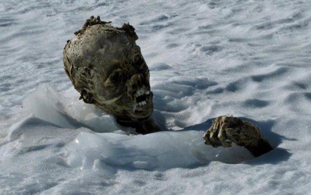 Танення альпійських льодовиків розкрило страшні таємниці