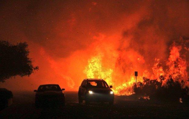 Апокалипсис в Калифорнии: украинка вытащила из адского огня детей, в сети показали видео