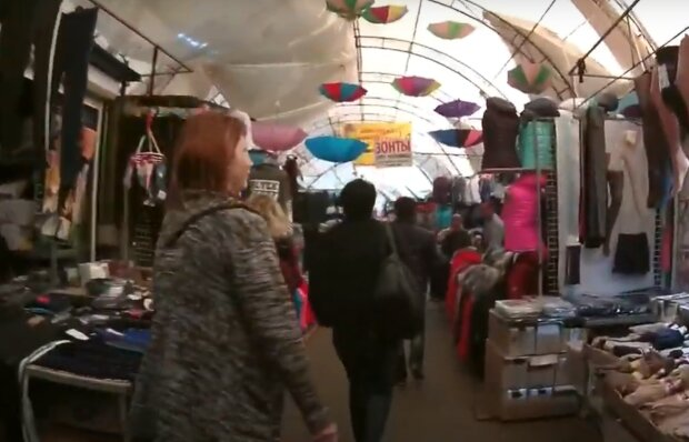На Троещинском рынке в Киеве нашли китайский вирус