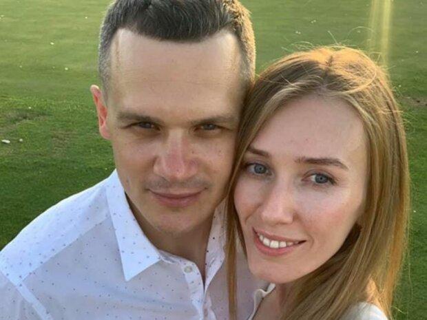 Олексій Кучер з дружиною, фото: Facebook