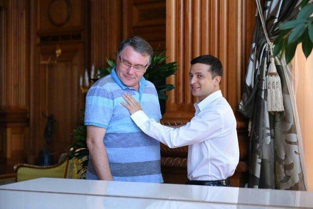 Володимир Зеленський і Олексій Кірющенко