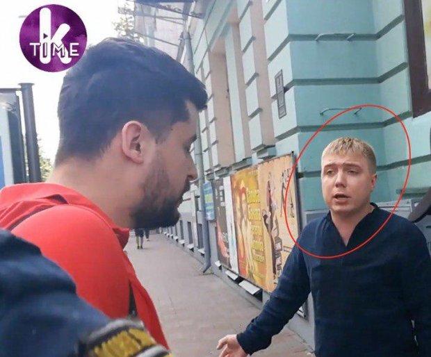 """Выборы в Раду: украинцы схватили """"порохобота"""", который нападал на журналистов - Кличко его хорошо знает"""