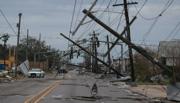 Ураган в США, фото: CNN