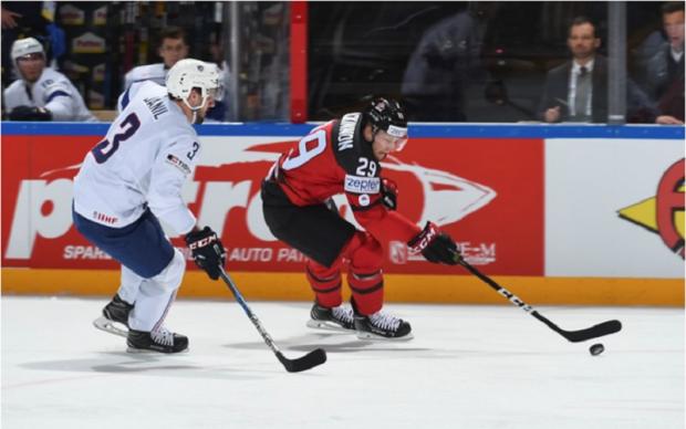 Канада - Франція 3:2 Відео найкращих моментів матчу ЧС-2017 з хокею