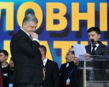 Петро Порошенко та Володимир Зеленський