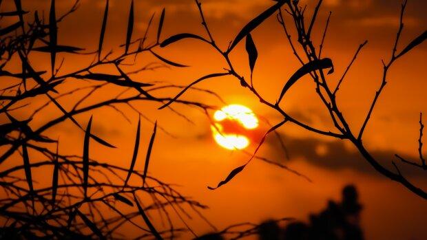 закат солнца, фото Pxhere