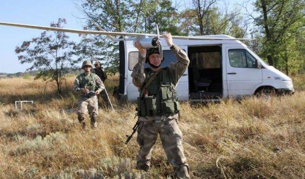 Аэроразведка показала базы боевиков у бойцов АТО (фото)