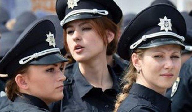В Украине создадут подразделение женщин-копов