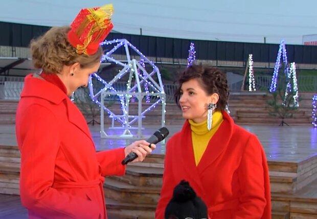 Екатерина Осадчая и Оля Цибульская, скриншот видео