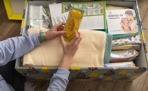 Пакет малюка, скріншот з відео
