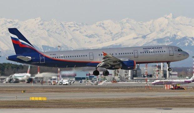 Російський літак загорівся в небі над Швейцарією