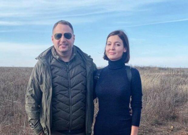 Андрей Ермак с Дарьей Зарицкой, фото: Соцсети