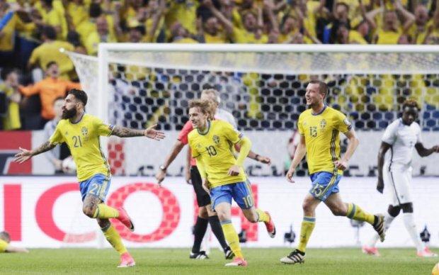 Швеція - Франція 2:1 Відео голів та огляд матчу