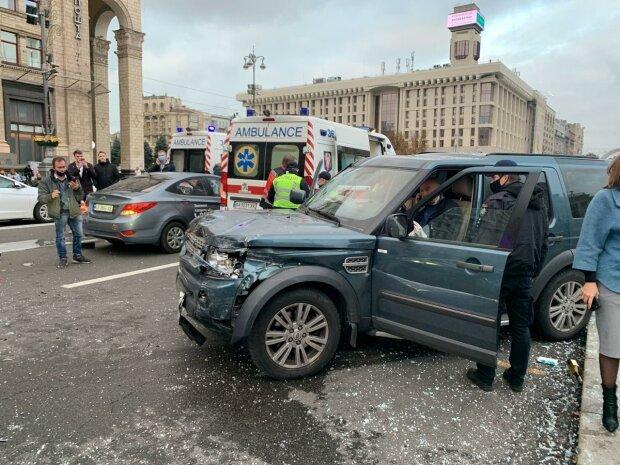ДТП в Киеве, источник: Телеграм