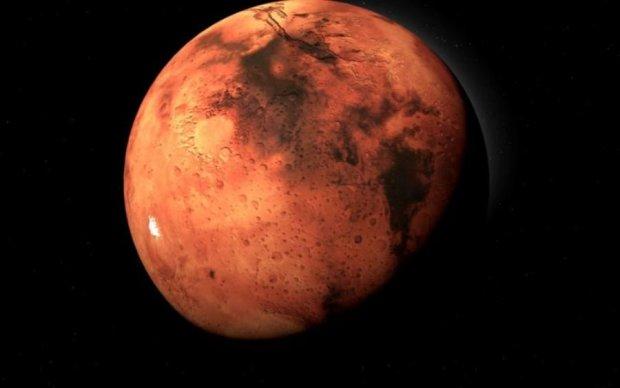 Вчені зафільмували марсіанський сніг: фото