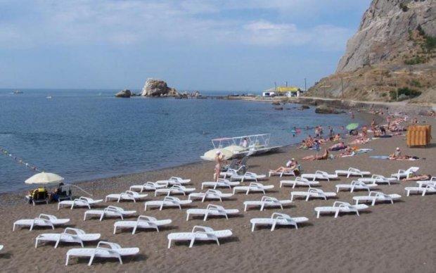 После приезда Путина в Крыму почему-то недосчитались пляжей